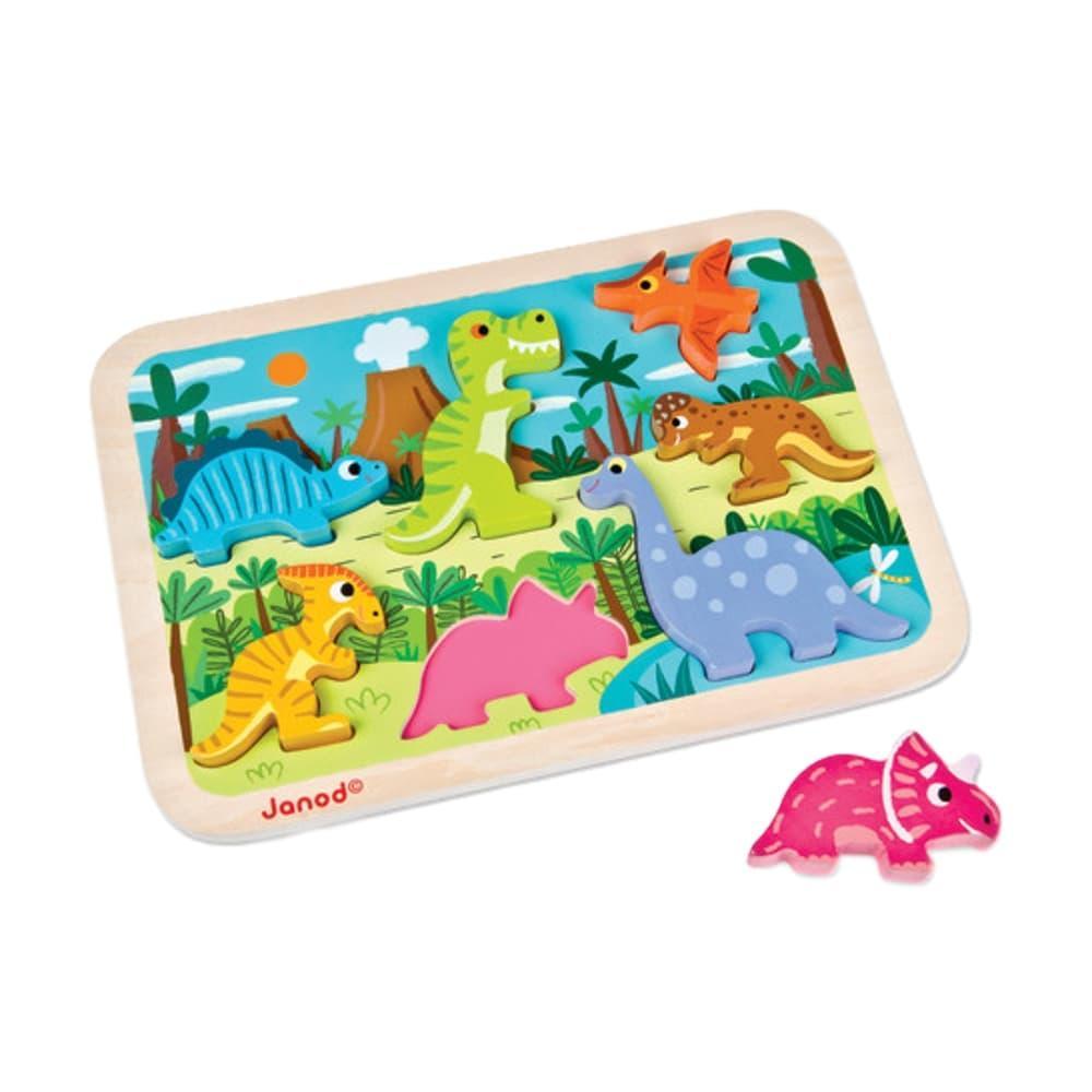 Janod Dinosaurs Chunky Puzzle