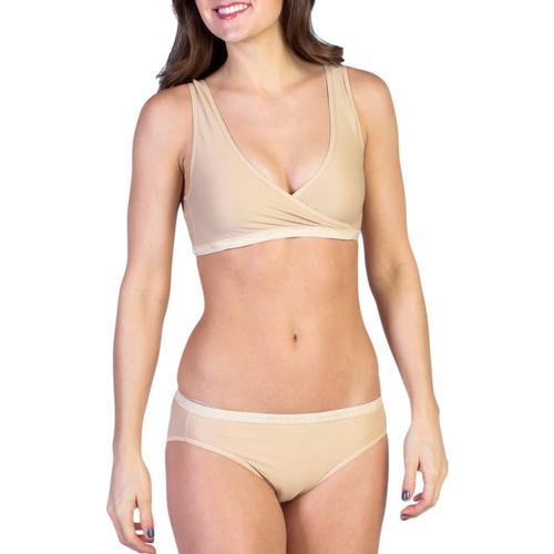 ExOfficio Women's Give-N-Go CrossOver Bra Nude_8010