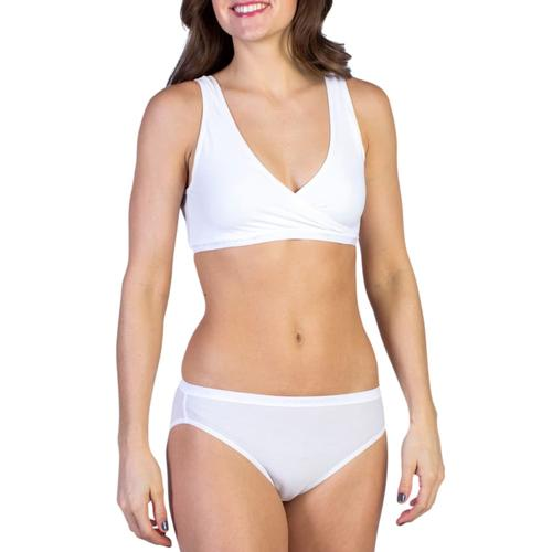 ExOfficio Women's Give-N-Go CrossOver Bra White_1000