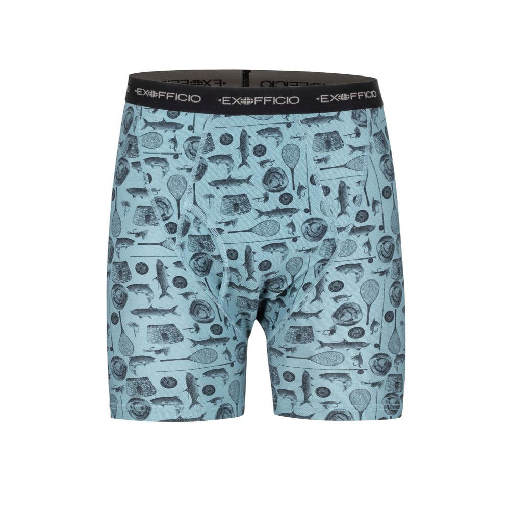 ExOfficio Men's Give-N-Go Printed Boxer Briefs FFISH_7010