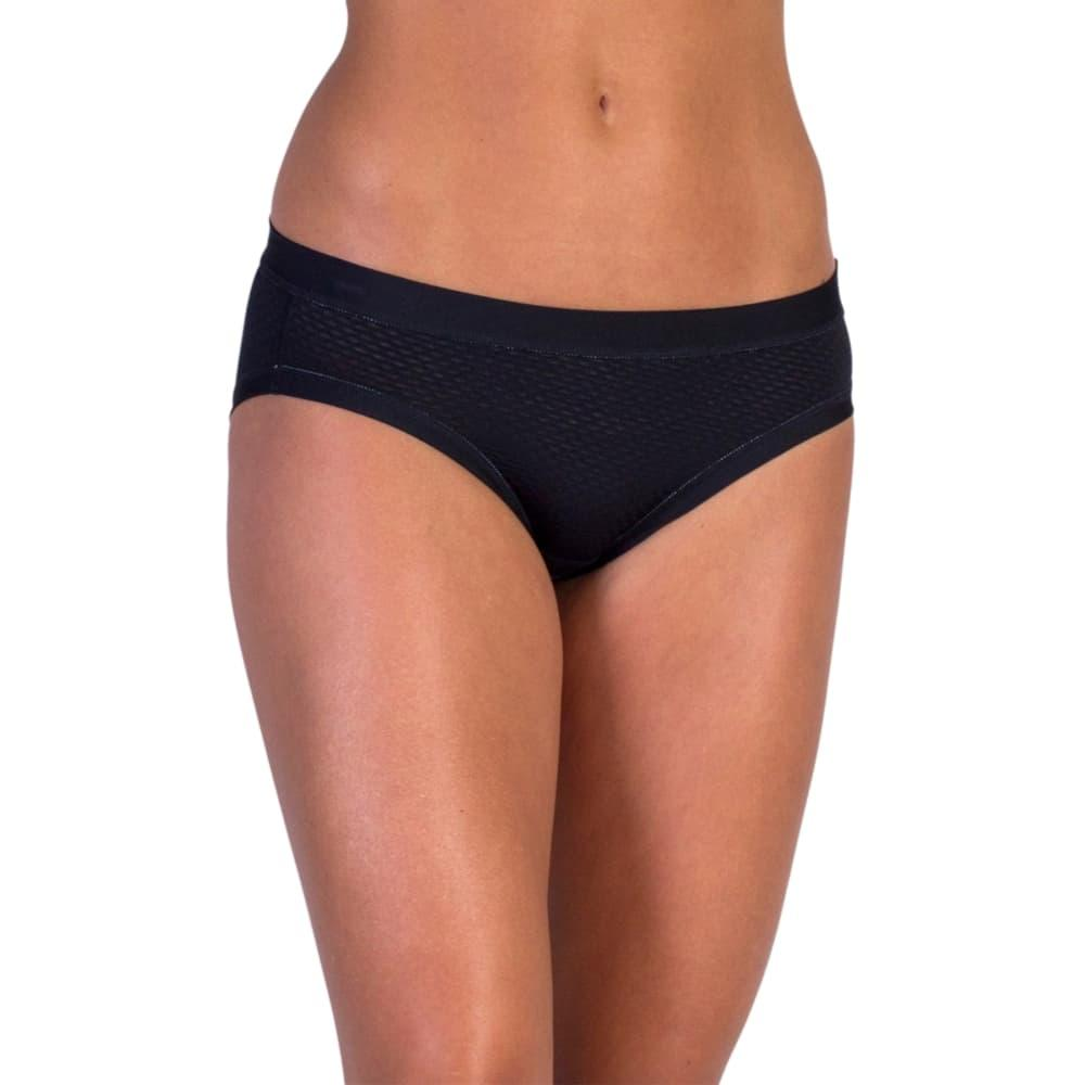 ExOfficio Women's Give-N-Go Sport Mesh Bikini Briefs BLACK_9999