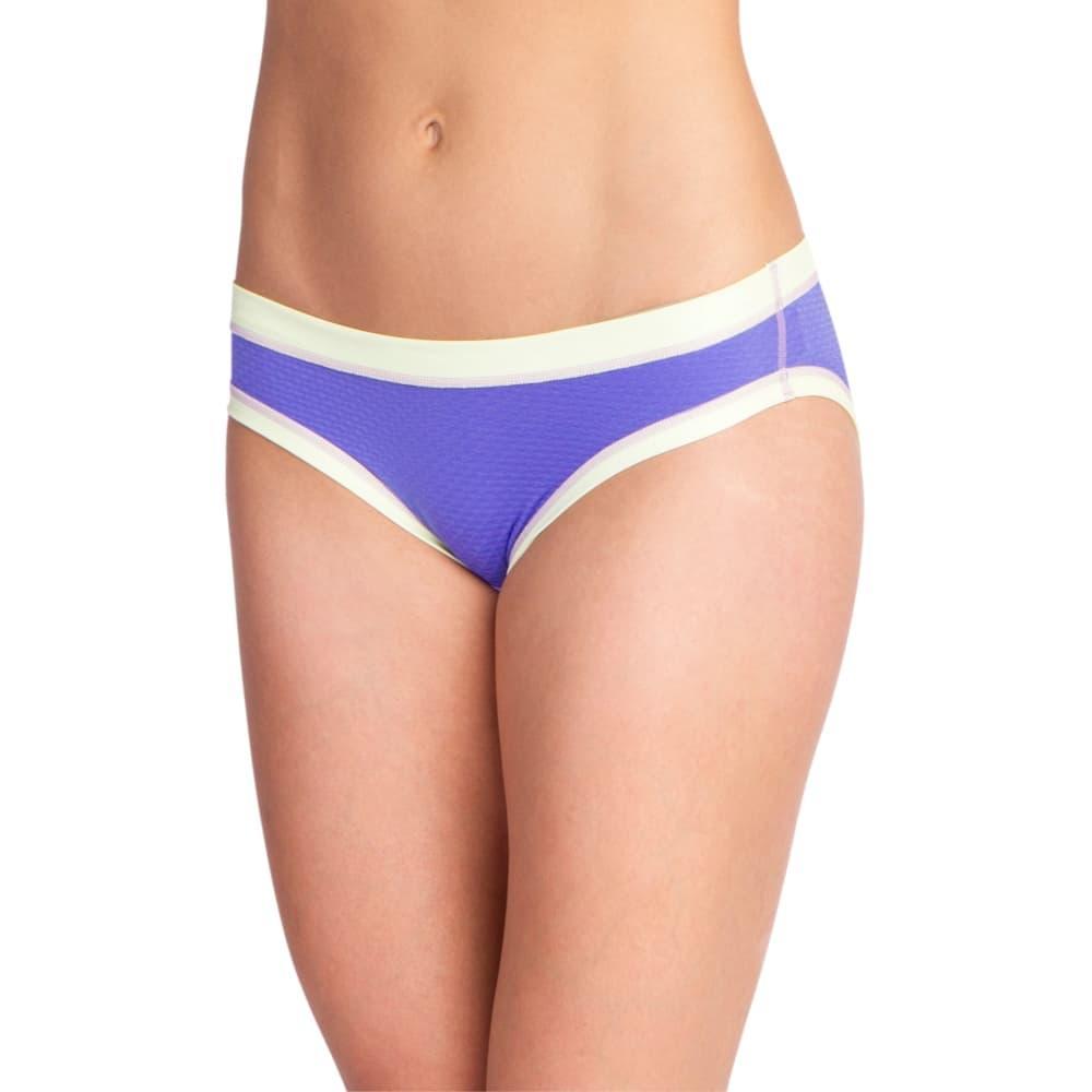 ExOfficio Women's Give-N-Go Sport Mesh Bikini Briefs BLUIRIS_4768