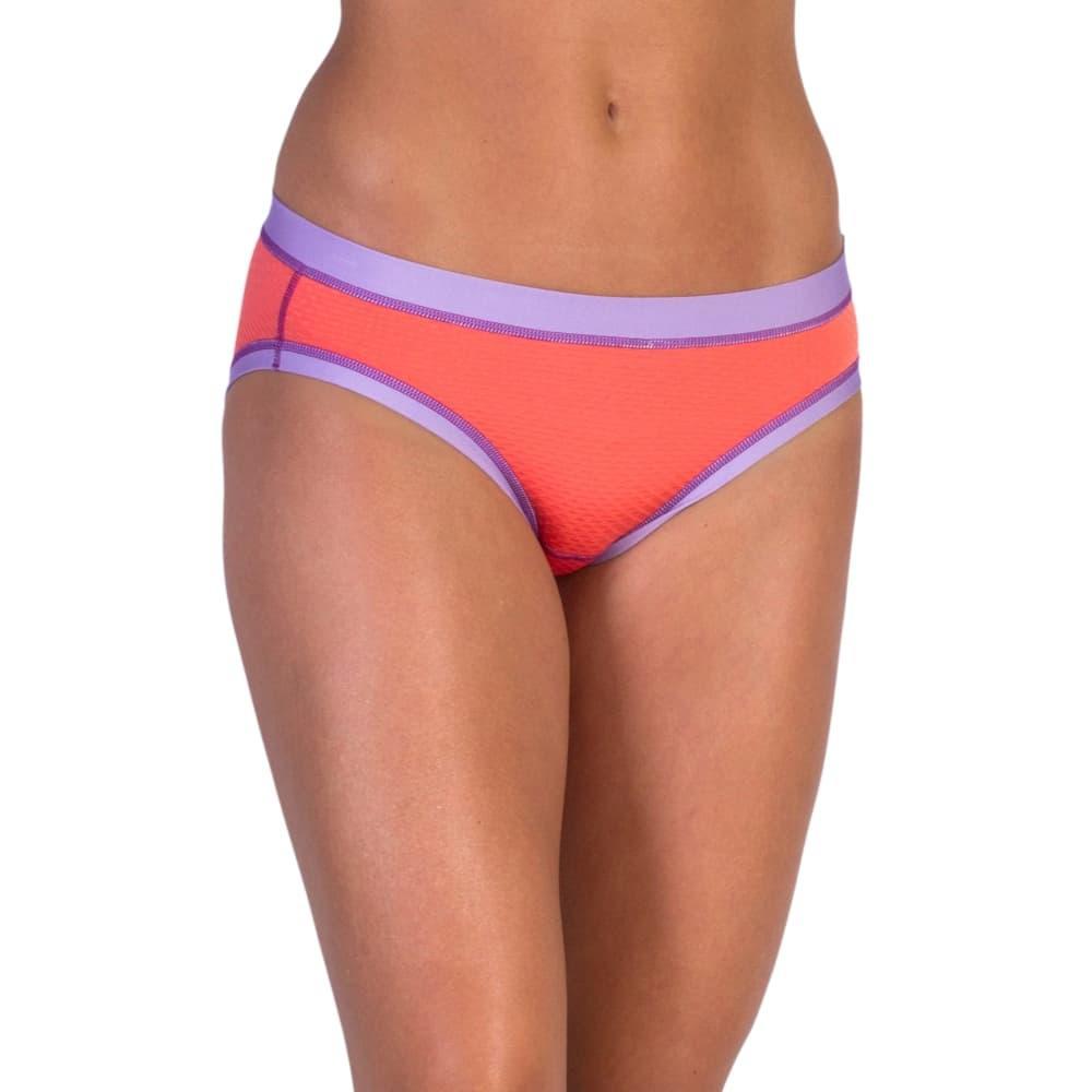 ExOfficio Women's Give-N-Go Sport Mesh Bikini Briefs HTCORAL_3546