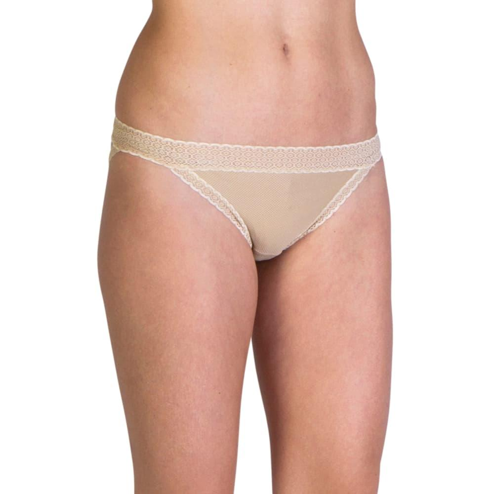 ExOfficio Women's Give-N-Go Lacy Low Rise Bikini Briefs NUDE_8010