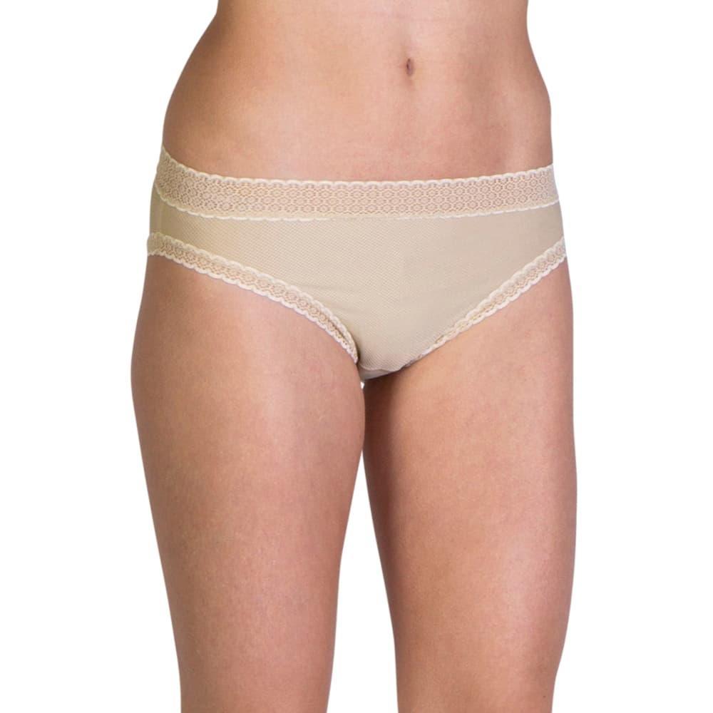 ExOfficio Women's Give-N-Go Lacy Bikini Briefs NUDE_8010