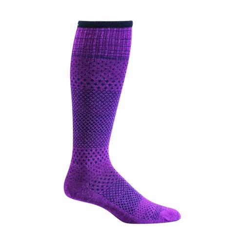 Sockwell Women's Micro Grade Moderate Graduated Compression Socks VIOLET_330