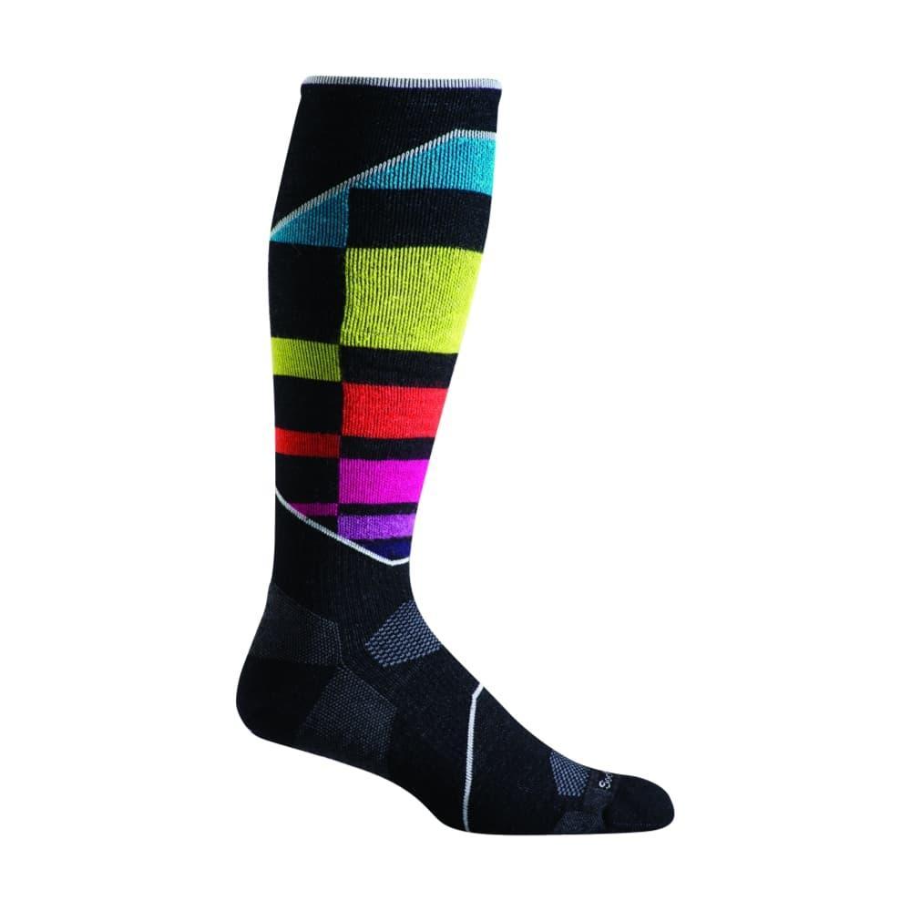 Sockwell Women's Ski Medium Graduated Compression Socks BLKMULTI_901