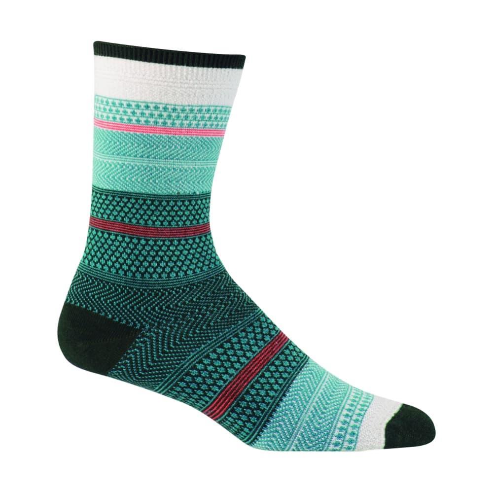 Sockwell Women's Jasmin Crew Socks TEAL480
