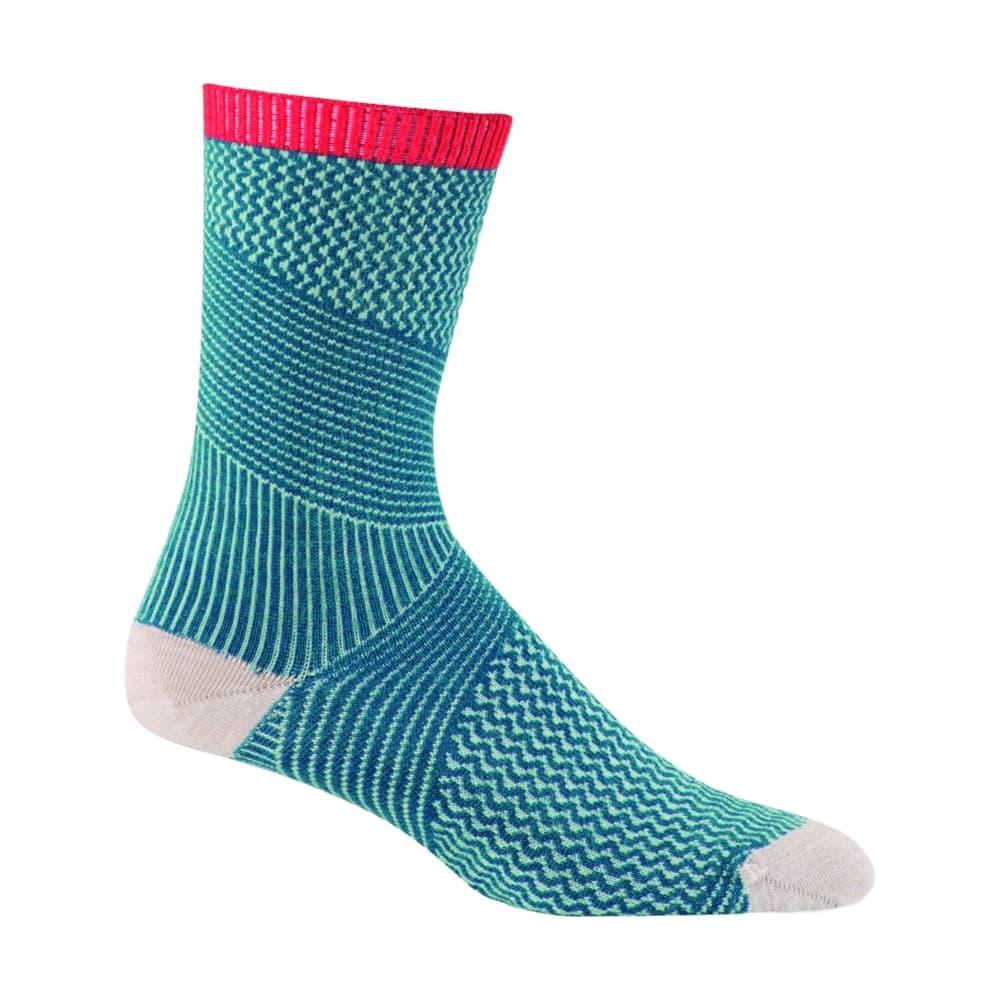 Sockwell Women's It's a Wrap Crew Socks TEAL_480
