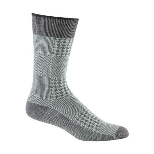 Sockwell Men's Haberdashery Crew Socks Charcoal_850