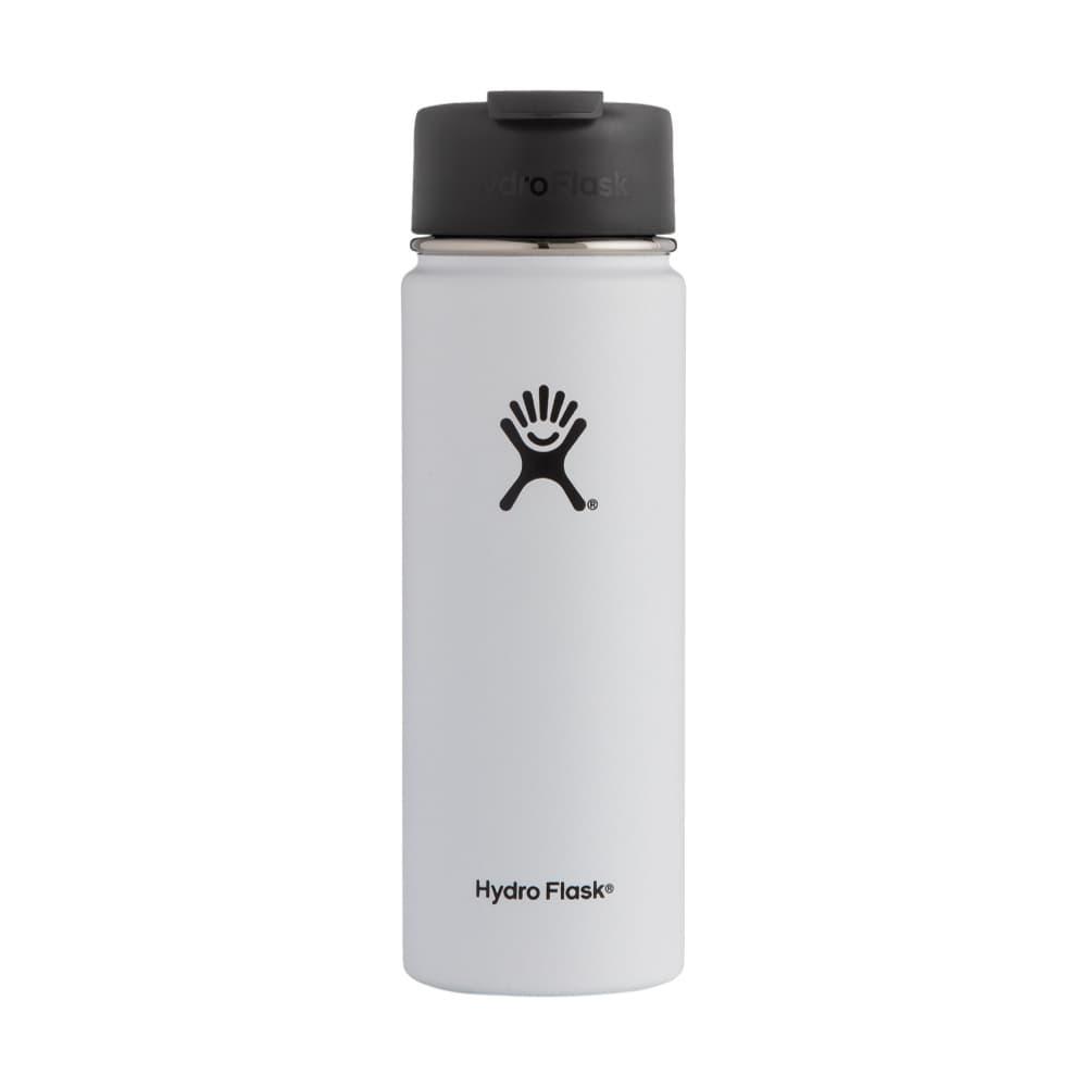 Hydro Flask 20oz Wide Mouth Bottle - Flip Lid WHITE