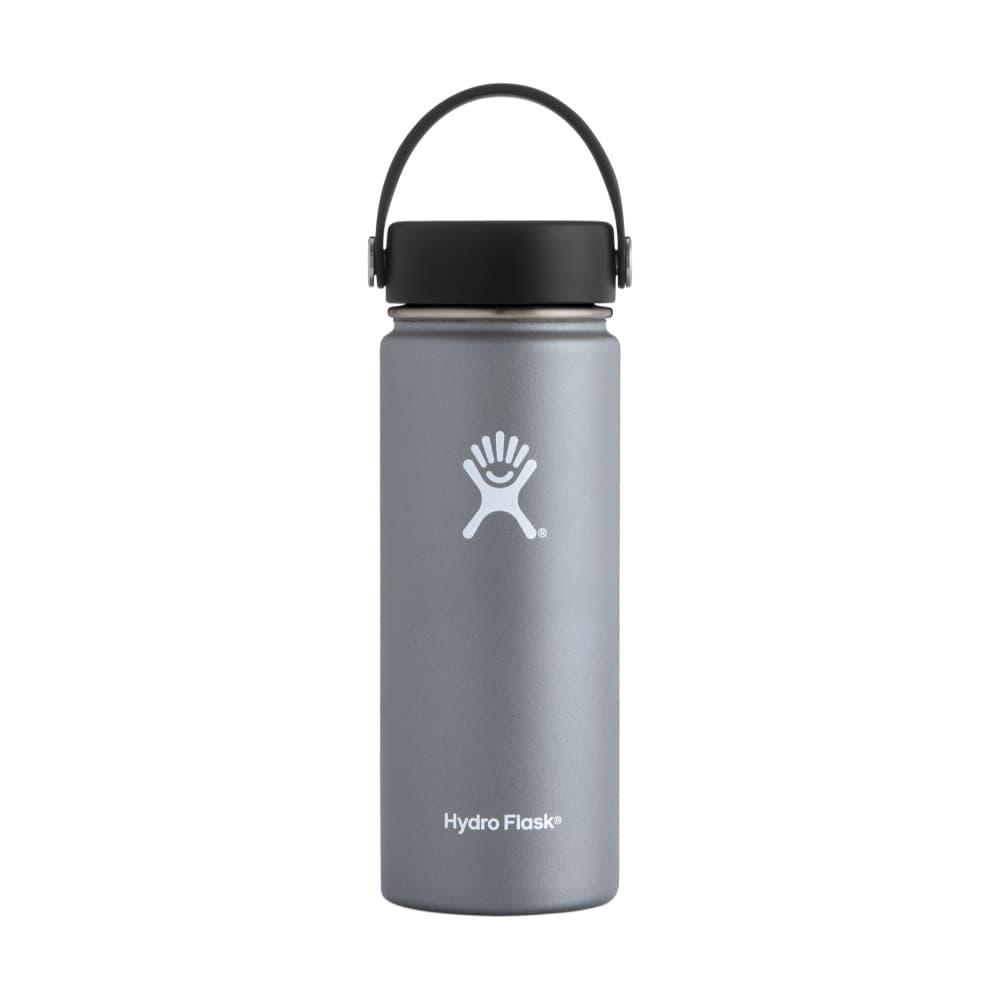 Hydro Flask Wide Mouth 18oz - Flex Cap GRAPHITE