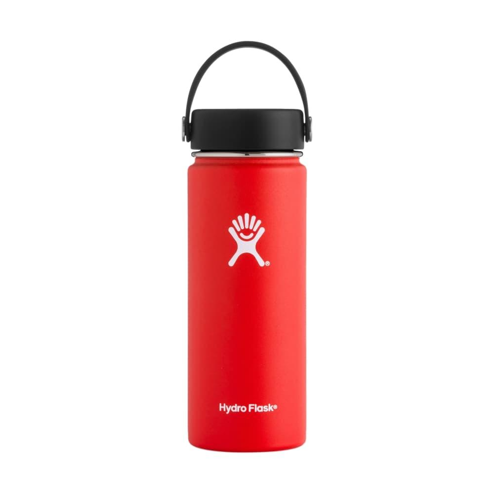 Hydro Flask Wide Mouth 18oz - Flex Cap LAVA