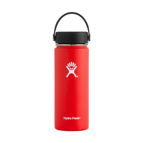 Hydro Flask Wide Mouth 18oz - Flex Cap Lava