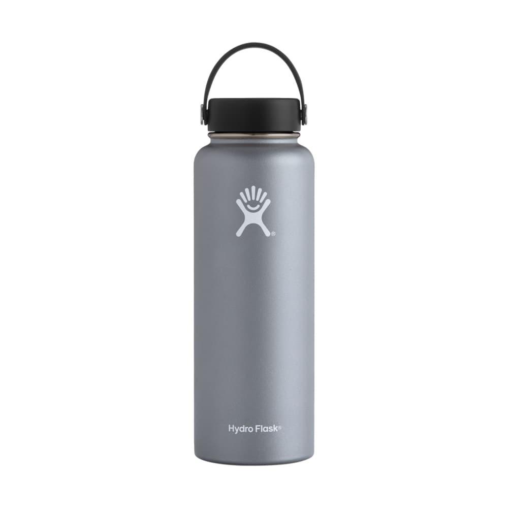 Hydro Flask Wide Mouth 40oz Bottle - Flex Cap GRAPHITE