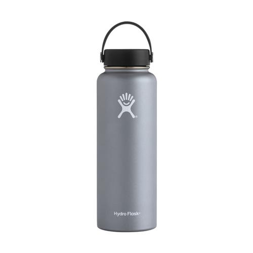 Hydro Flask Wide Mouth 40oz - Flex Cap GRAPHITE