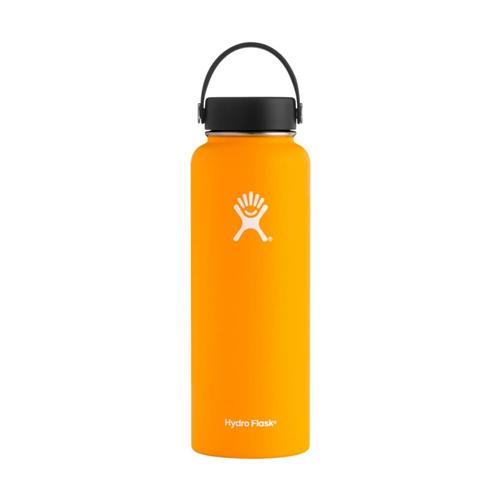 Hydro Flask Wide Mouth 40oz - Flex Cap MANGO