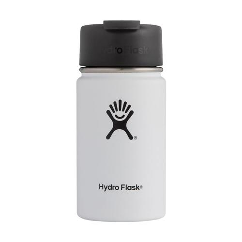 Hydro Flask Wide Mouth 12oz W/Flip Lid WHITE