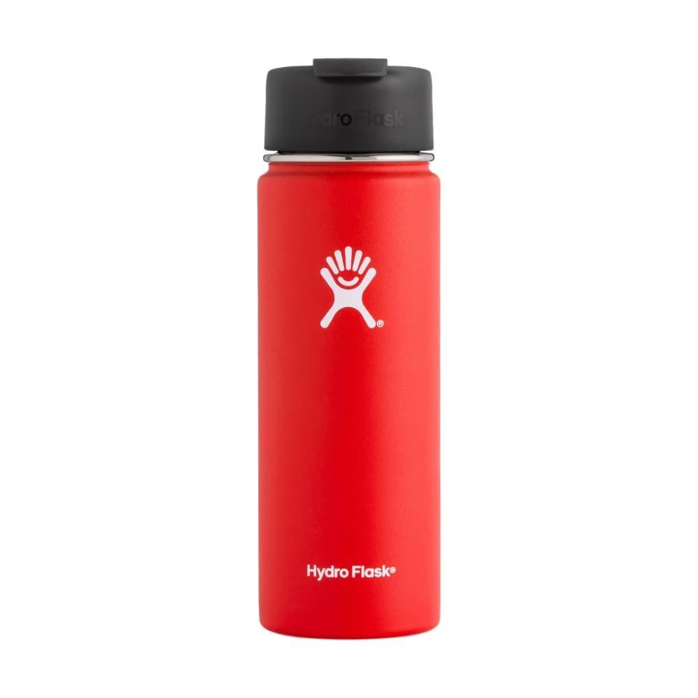 Hydro Flask 20oz Wide Mouth Bottle - Flip Lid LAVA