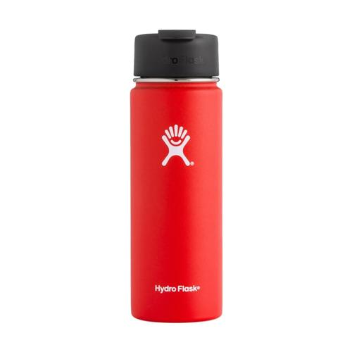 Hydro Flask 20oz Wide Mouth Bottle - Flip Lid LAVA