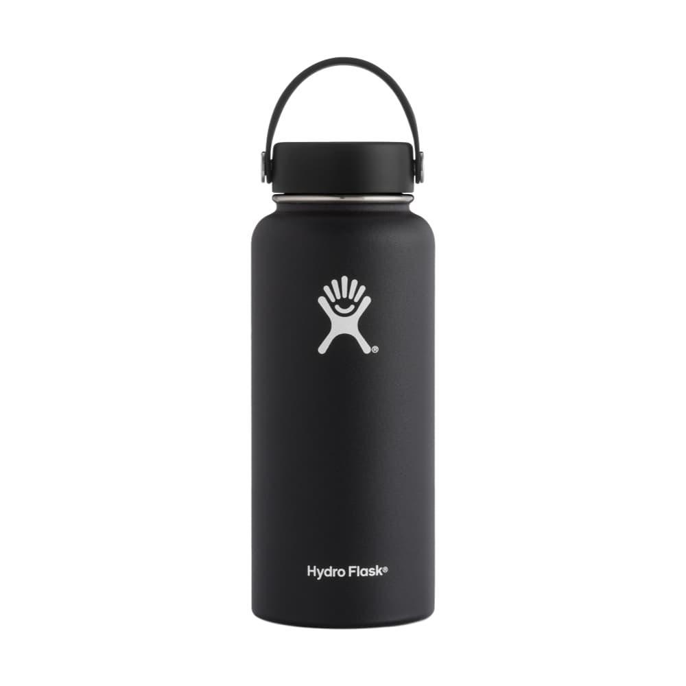 Hydro Flask 32oz Wide Mouth Bottle - Flex Cap BLACK