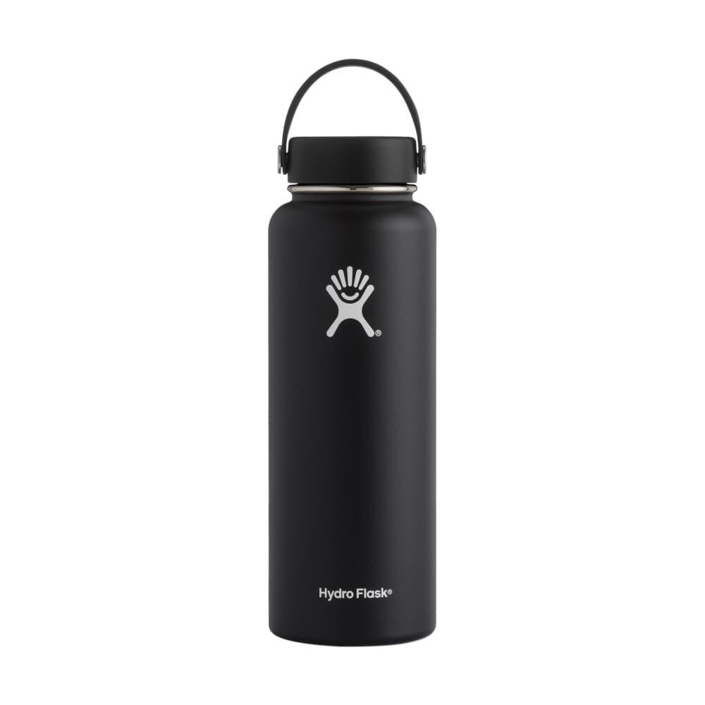 Hydro Flask Wide Mouth 40oz - Flex Cap BLACK