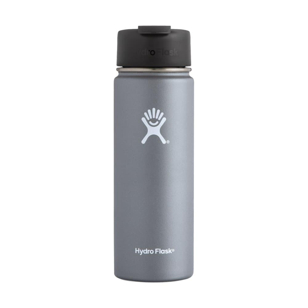 Hydro Flask 20oz Wide Mouth Bottle - Flip Lid GRAPHITE