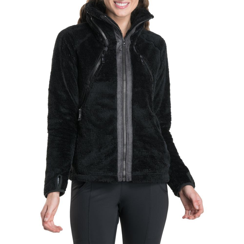 KUHL Women's Flight Jacket BLACK