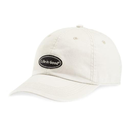 Life is Good Oval Chill Cap BONE