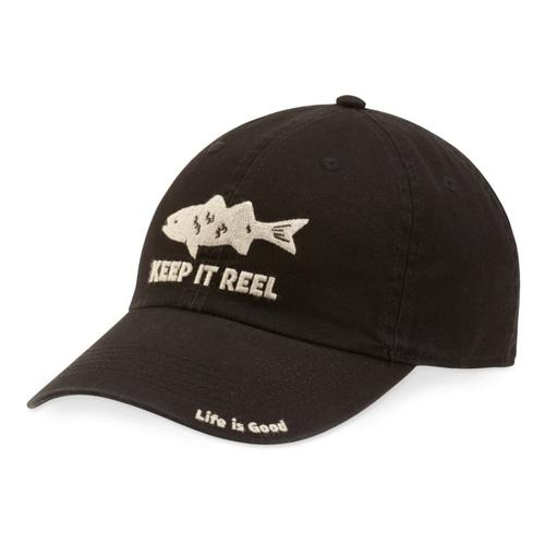 Life Is Good Fish Chill Cap NIGHT_BLK