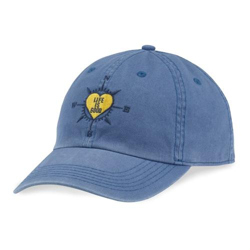 HEART COMPASS CHILL CAP VTG_BLU