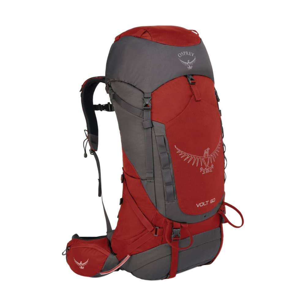 Osprey Volt 60 Pack CARMINERED