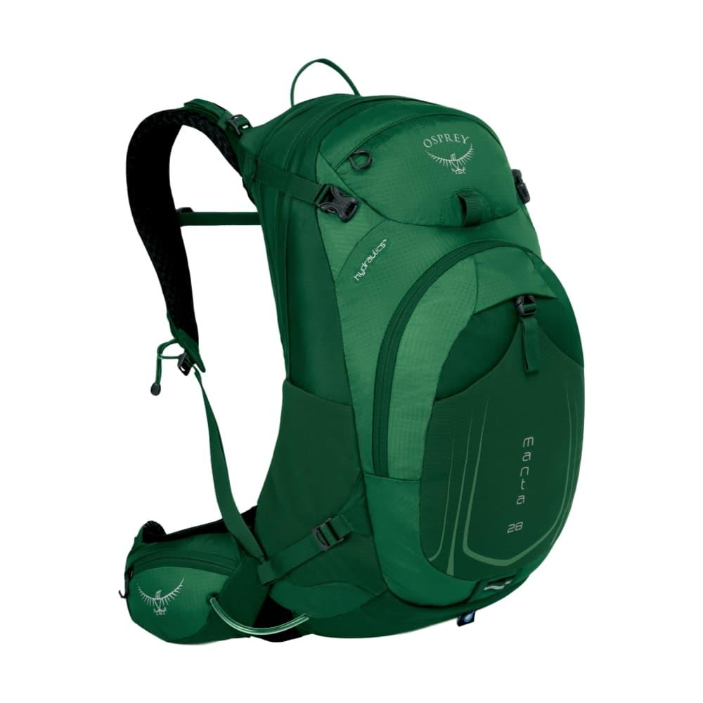 Osprey Manta AG 28 - Small/Medium Backpack SPRUCEGREEN