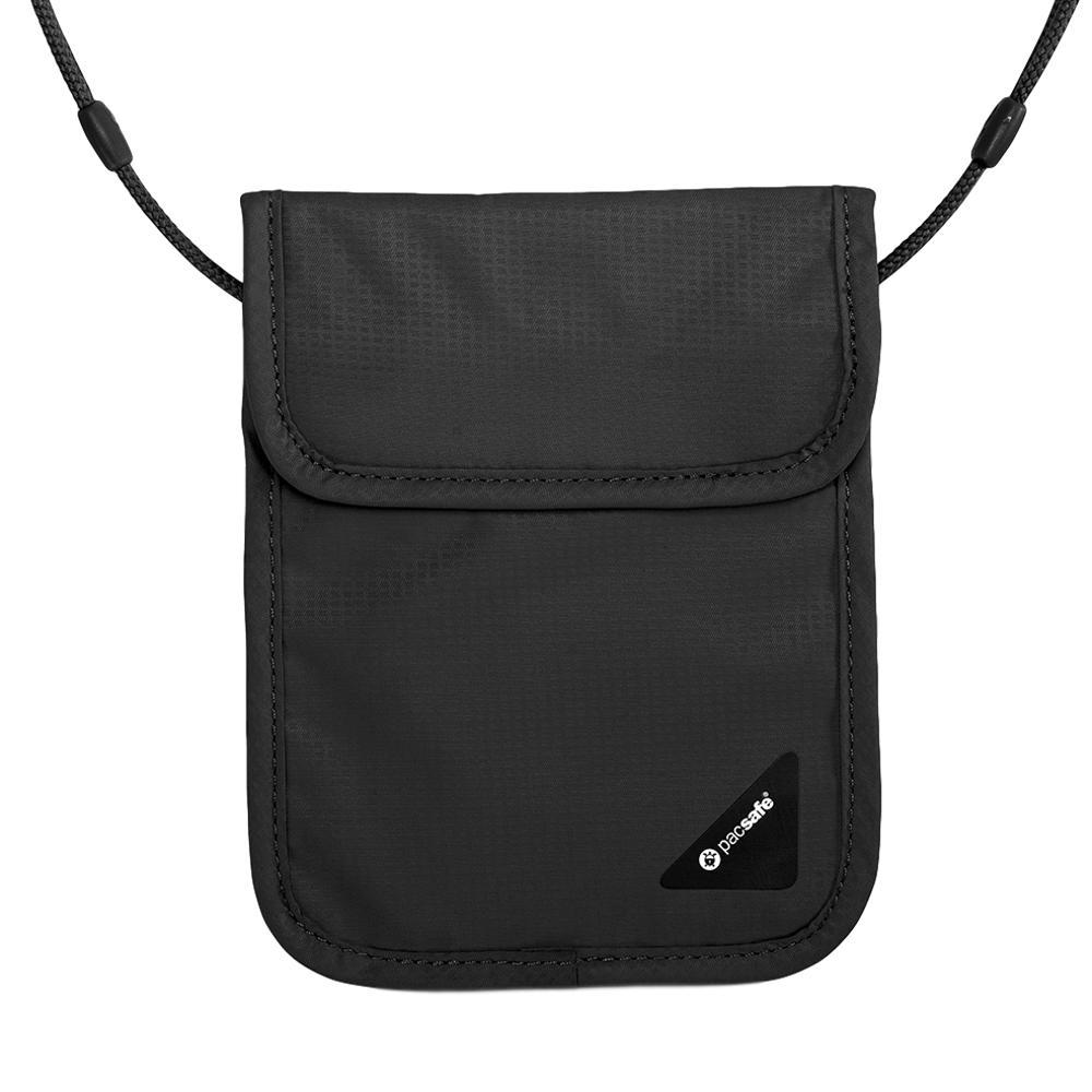 Pacsafe Coversafe X75 RFID Blocking Neck Pouch BLACK_100