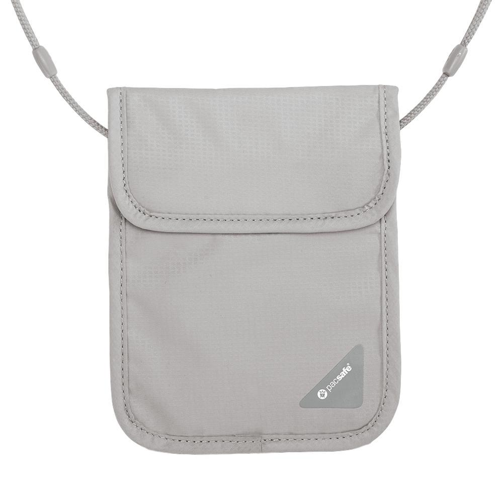Pacsafe Coversafe X75 RFID Blocking Neck Pouch NGREY_103