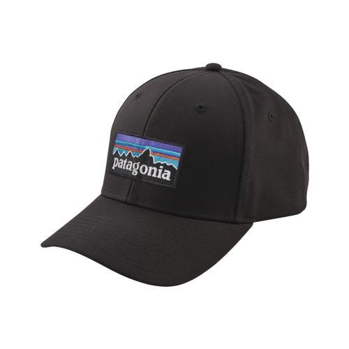 Patagonia P-6 Logo Roger That Hat BLK