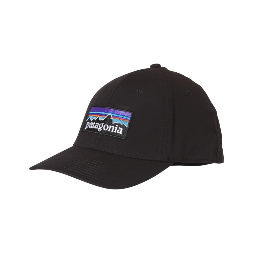 Patagonia P-6 Logo Stretch Fit Hat BLK