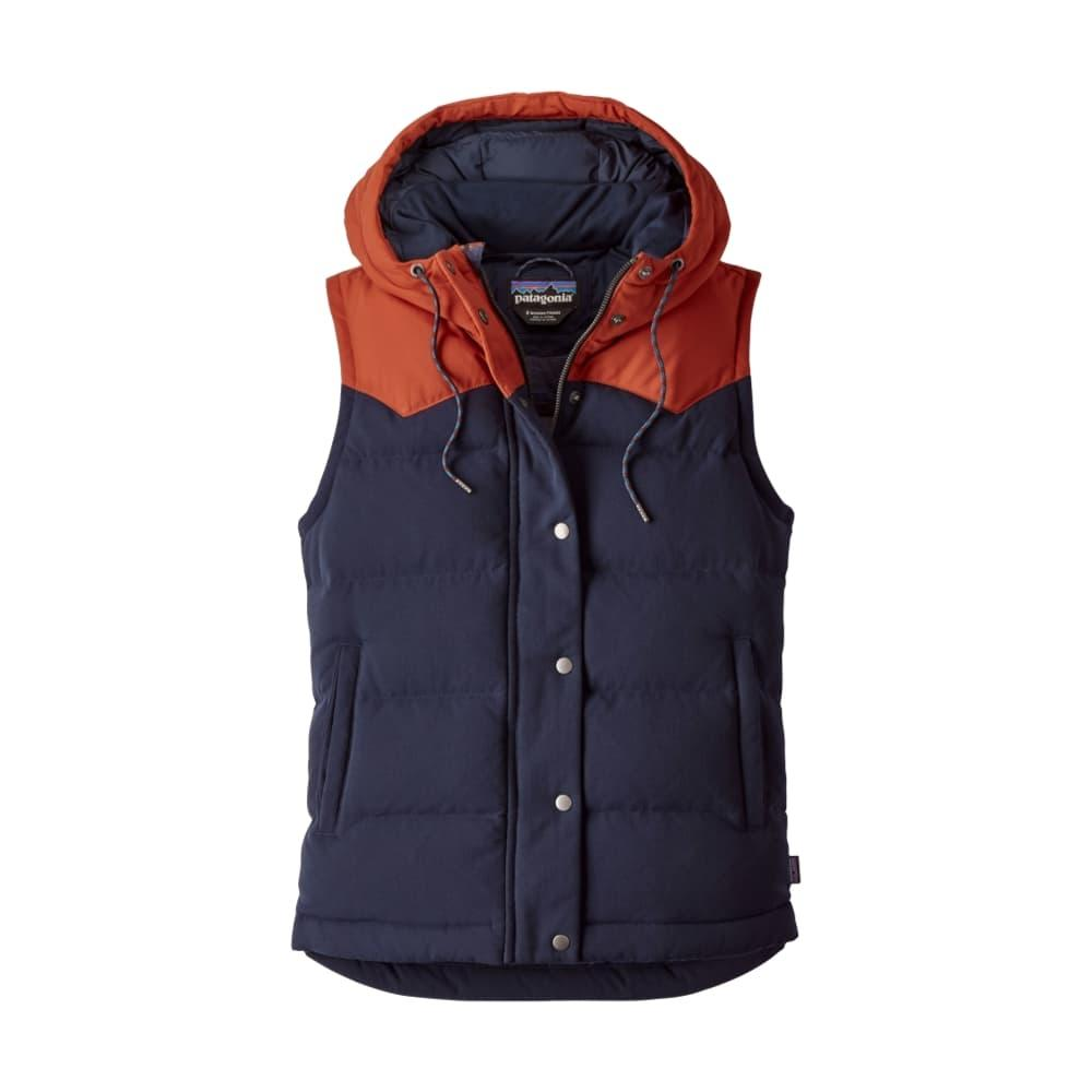 Patagonia Women's Bivy Down Hooded Vest NVYB