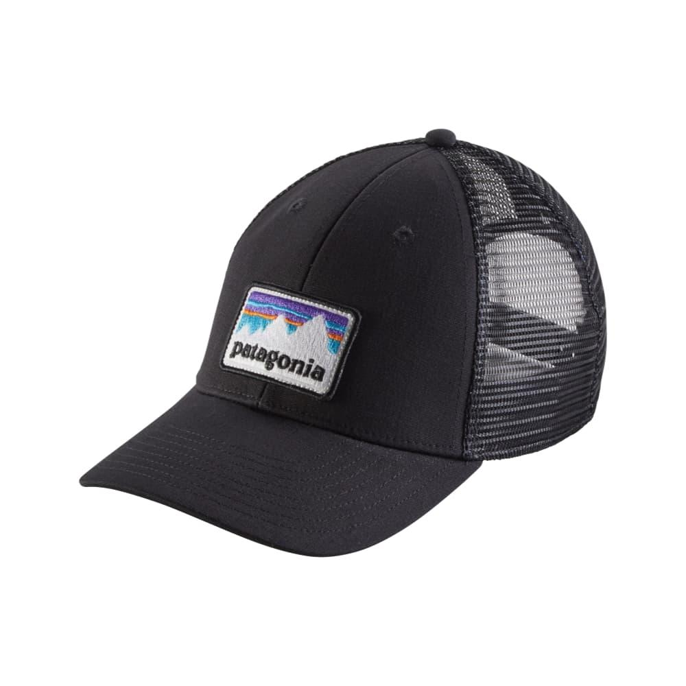 Patagonia Shop Sticker LoPro Trucker Hat BLK