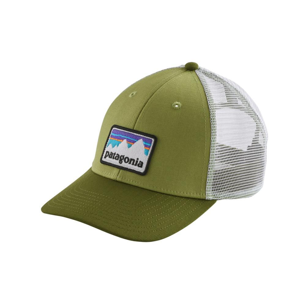 Patagonia Shop Sticker LoPro Trucker Hat CRGN