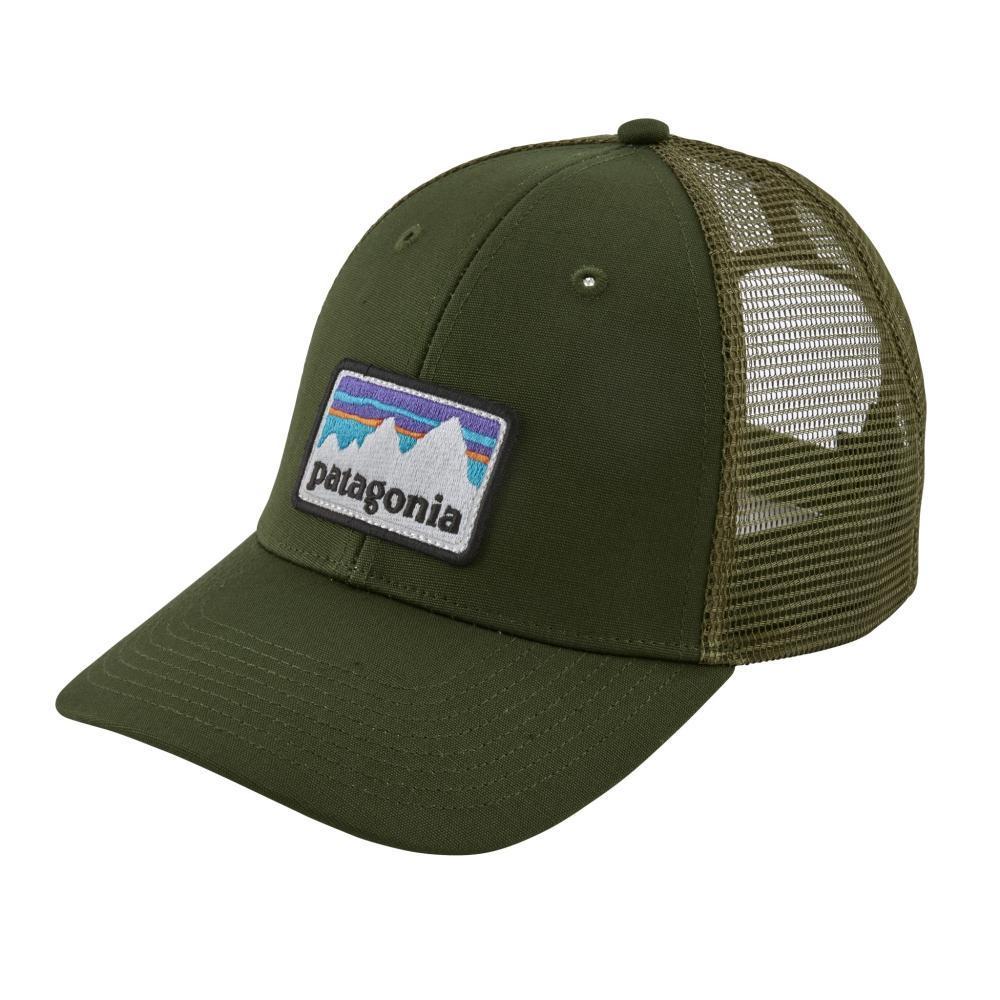 Patagonia Shop Sticker LoPro Trucker Hat NOMG