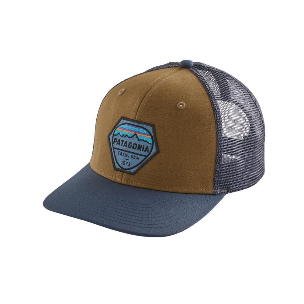 Patagonia Fitz Roy Hex Trucker Hat COI