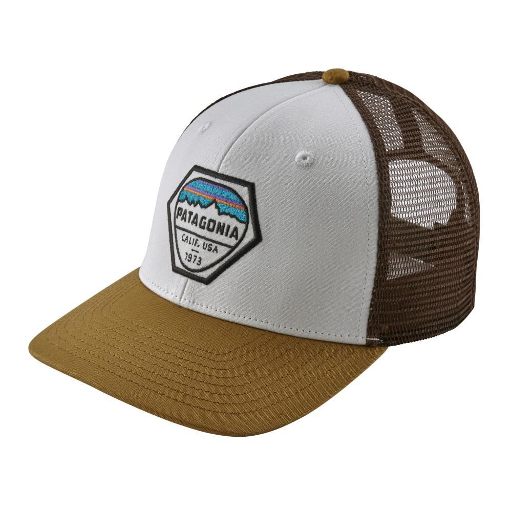 Patagonia Fitz Roy Hex Trucker Hat WHI