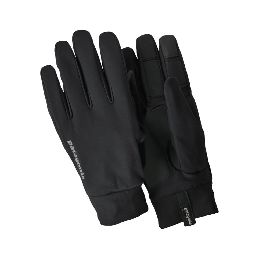Patagonia Wind Shield Running Gloves BLK