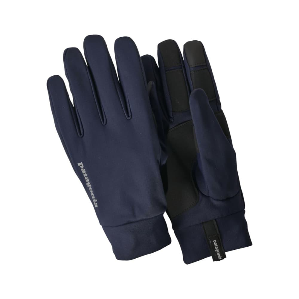 Patagonia Wind Shield Running Gloves NVYB