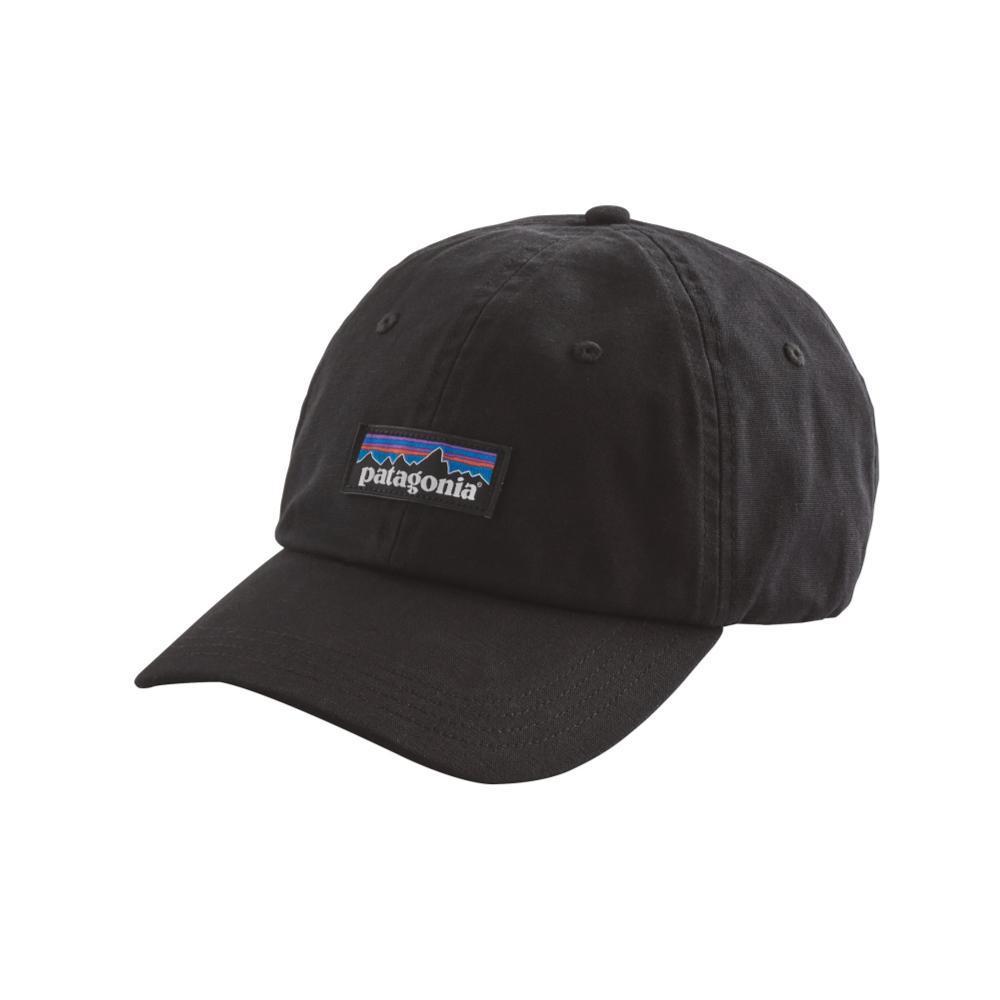 Patagonia P-6 Label Trad Cap BLK