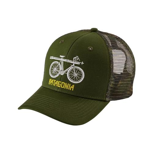 Patagonia Snow Cycle Trucker Hat GLDG