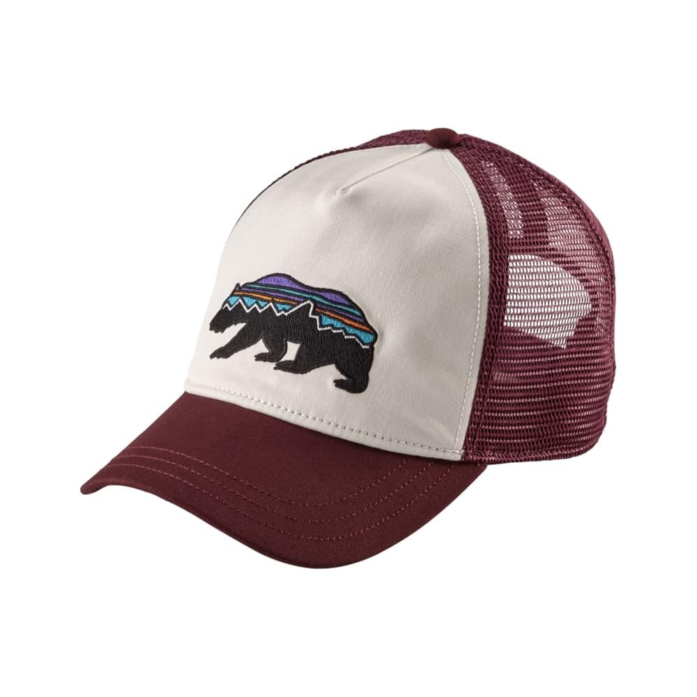 Patagonia Women's Fitz Roy Bear Layback Trucker Hat WHI