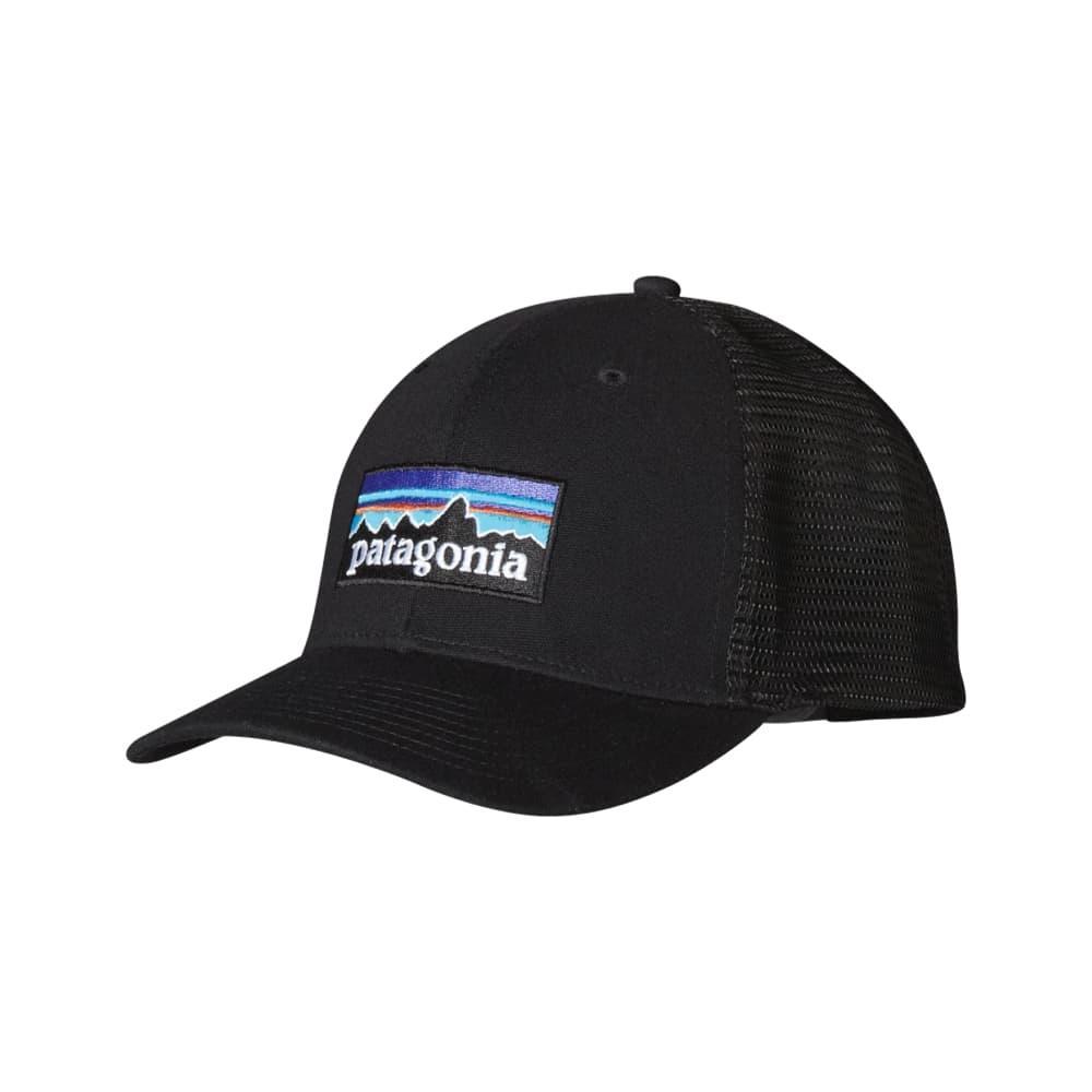 Patagonia P-6 Trucker Hat BLK