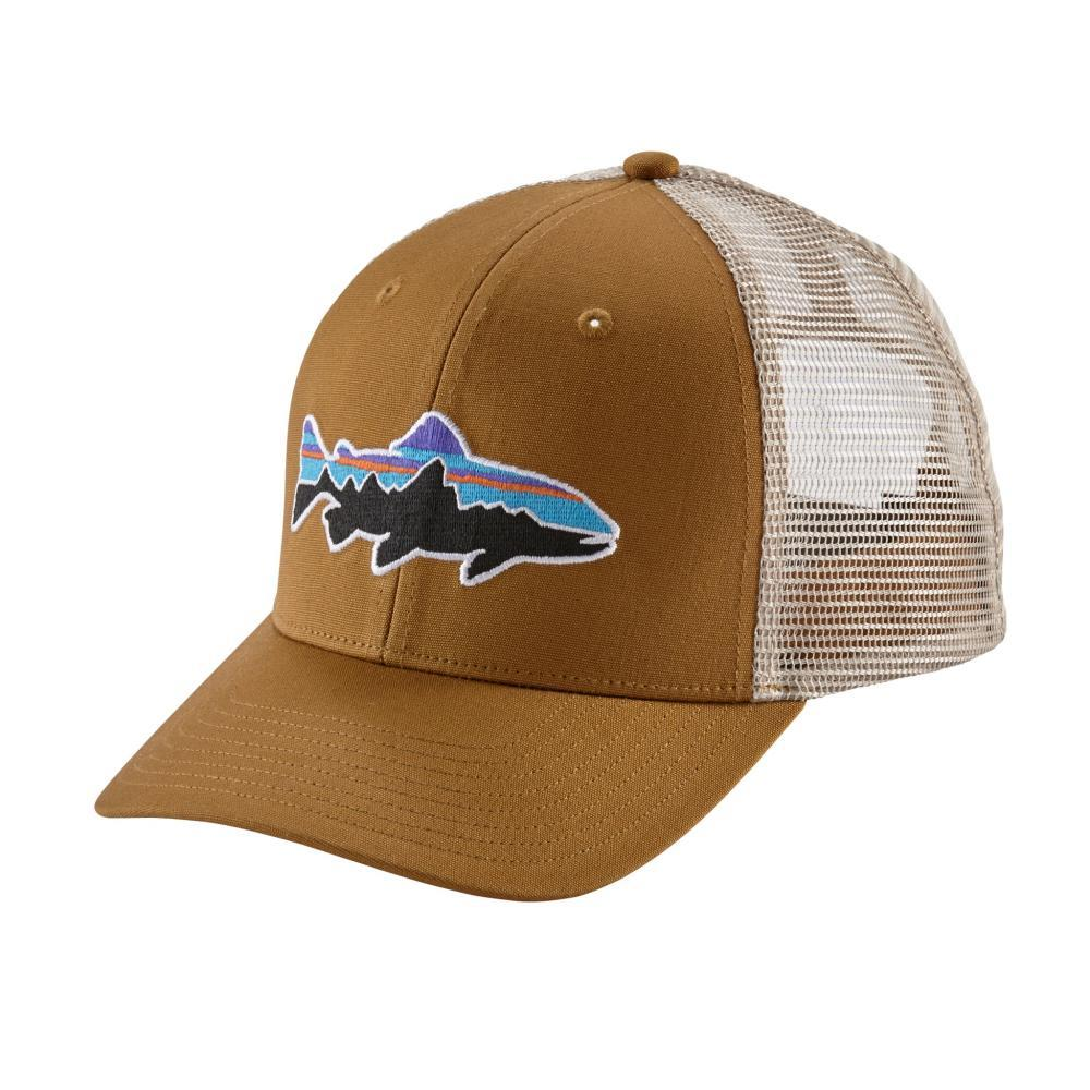 Patagonia Fitz Roy Trout Trucker Hat BRBN